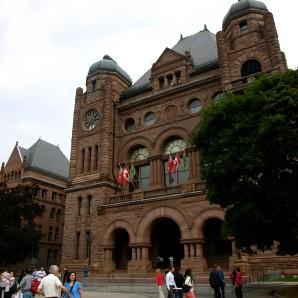 El Parlament d'Ontario.